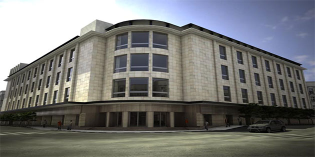 Ferdowsi Melli bank Building